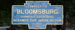 Bloomsburg Keystone Sign